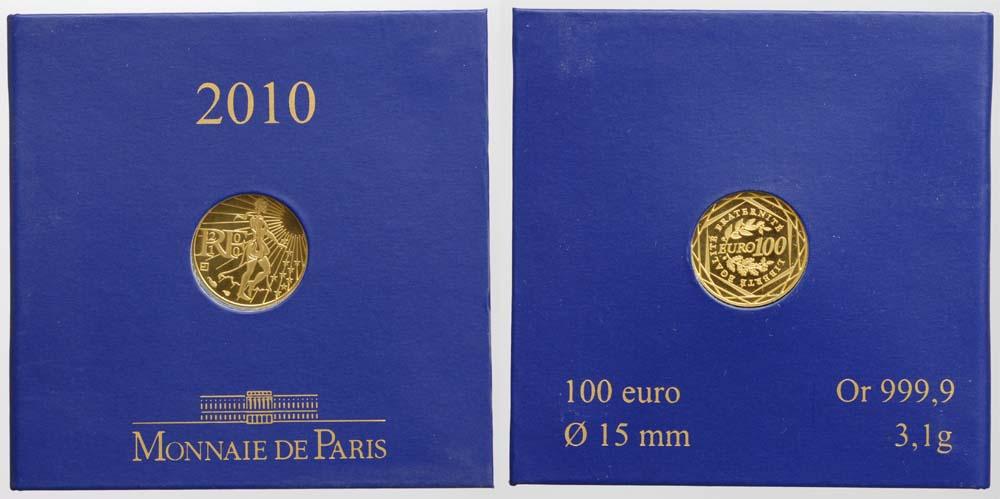 Lieferumfang:Frankreich : 100 Euro Säerin  2010 Stgl. 100 Euro Frankreich 2010