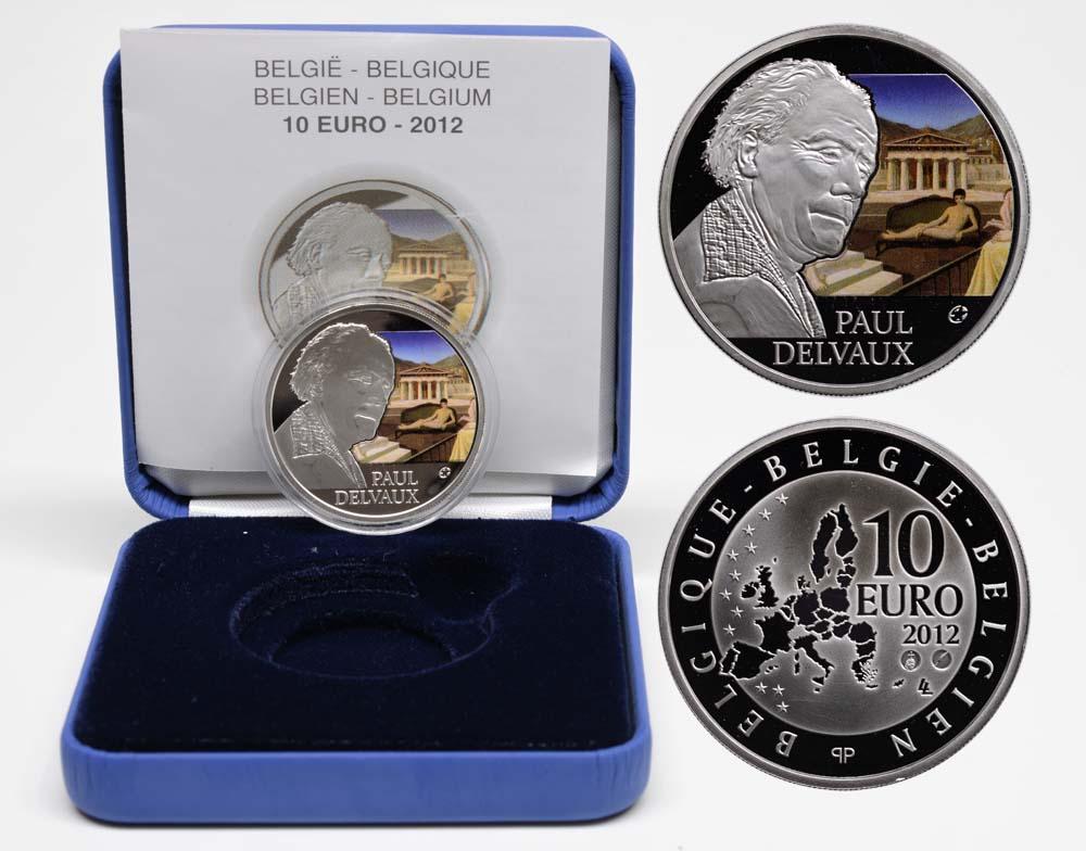 Lieferumfang:Belgien : 10 Euro Paul Delvaux  2012 PP