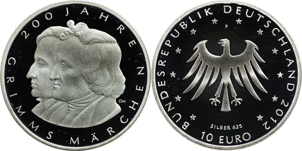 10 Euro Grimm 2012