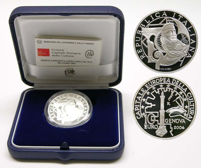 Lieferumfang:Italien : 10 Euro Genua  2004 PP