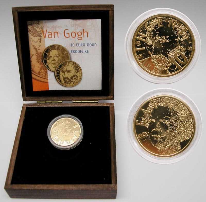 Lieferumfang:Niederlande : 10 Euro Van Gogh  2003 PP