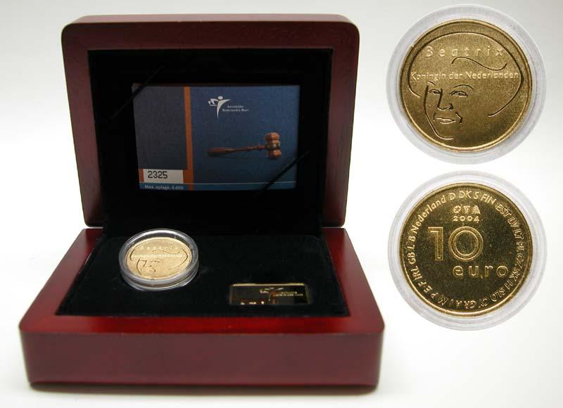 Lieferumfang:Niederlande : 10 Euro EU-Erweiterung  2004 PP