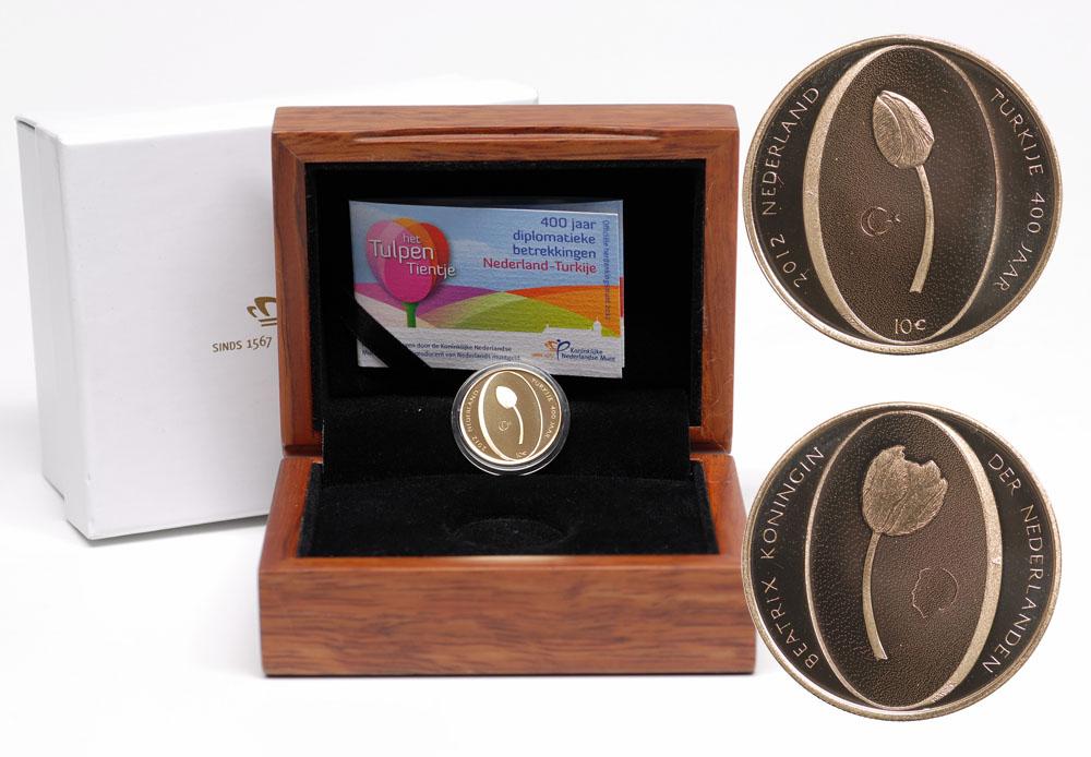 Lieferumfang:Niederlande : 10 Euro Tulpe  2012 PP