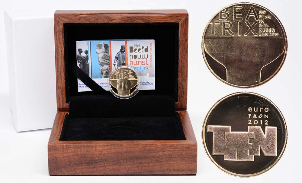 Lieferumfang:Niederlande : 10 Euro Bildhauerkunst  2012 PP