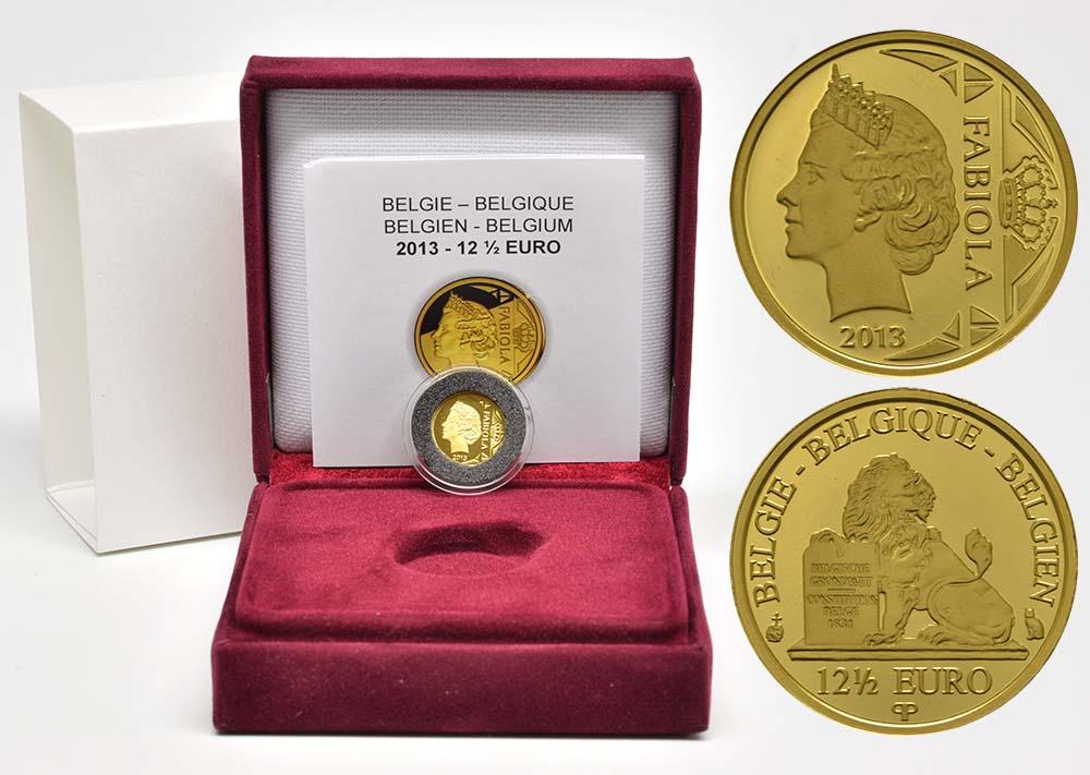 Lieferumfang:Belgien : 12,5 Euro Königin Fabiola  2013 PP