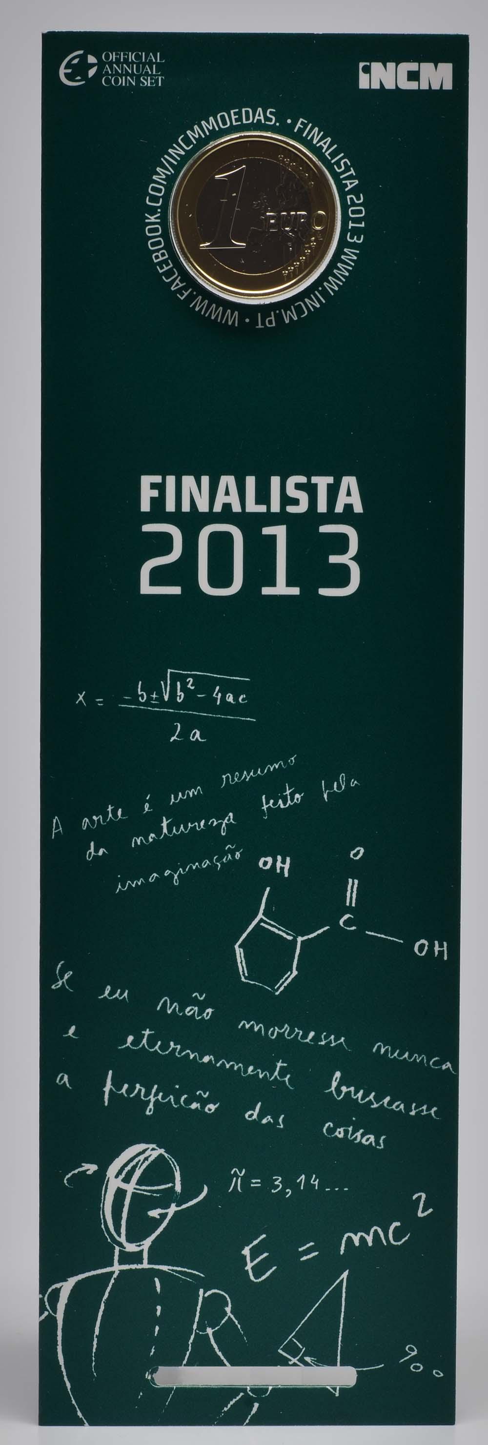 Lieferumfang:Portugal : 1 Euro Studenten  2013 Stgl.
