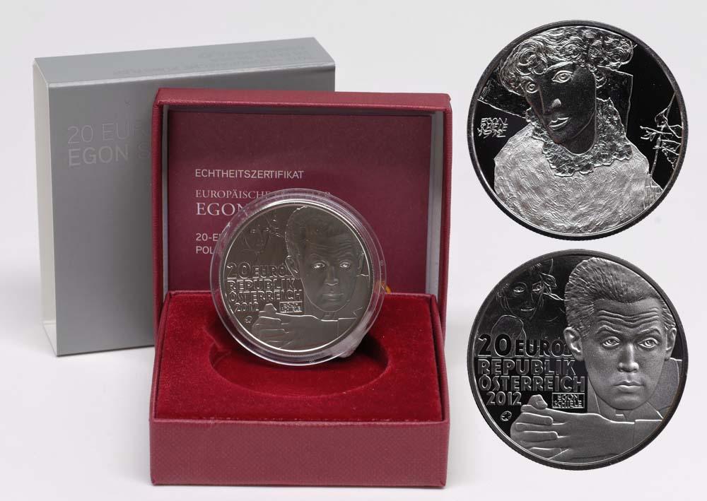 Lieferumfang:Österreich : 20 Euro Egon Schiele  2012 PP