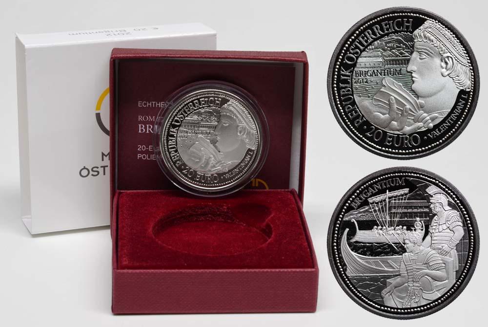 Lieferumfang:Österreich : 20 Euro Brigantium  2012 PP