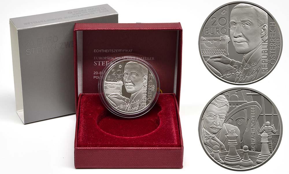 Lieferumfang:Österreich : 20 Euro Stefan Zweig  2013 PP