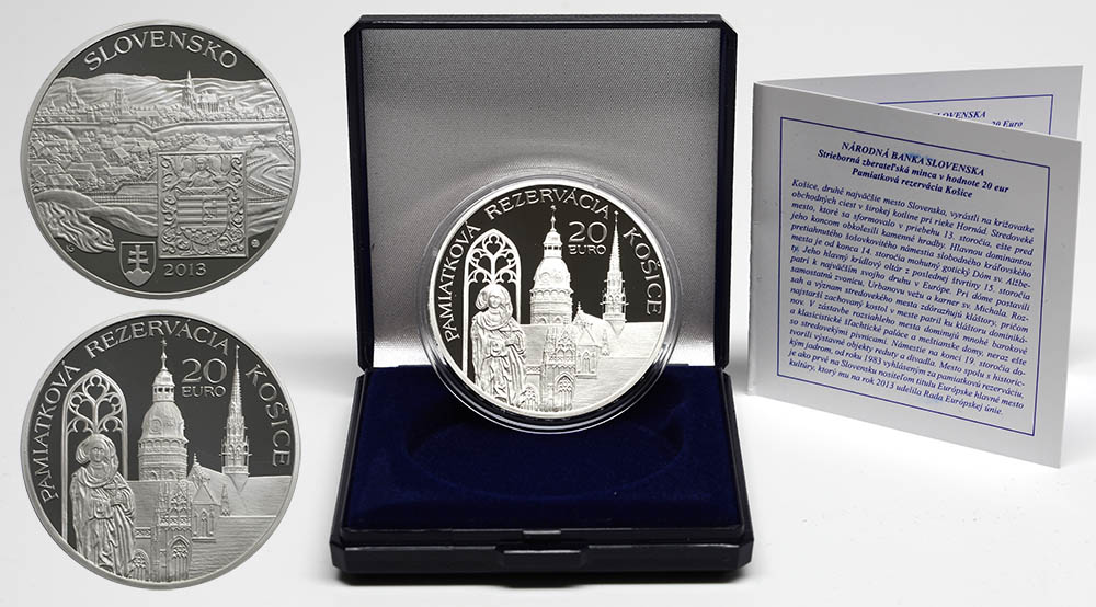 Lieferumfang:Slowakei : 20 Euro Kosice  2013 PP