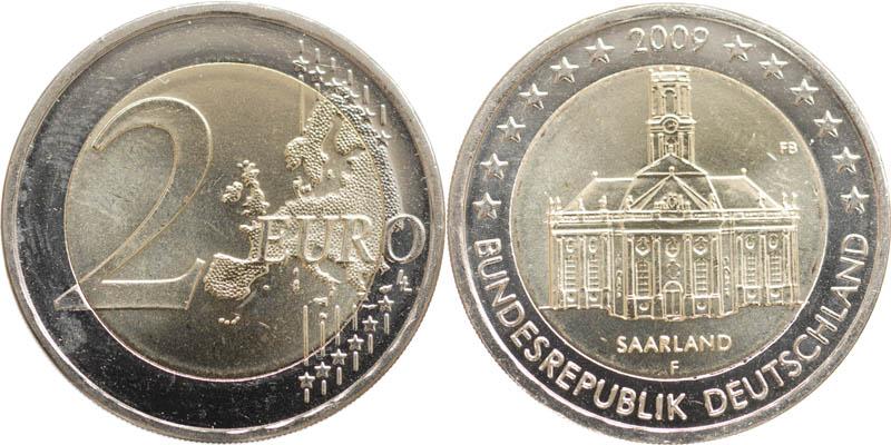 2 euro saarland