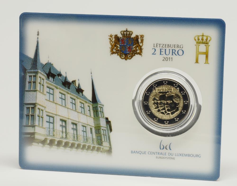 Luxemburg : 2 Euro Jean de Luxemburg  2011 Stgl.