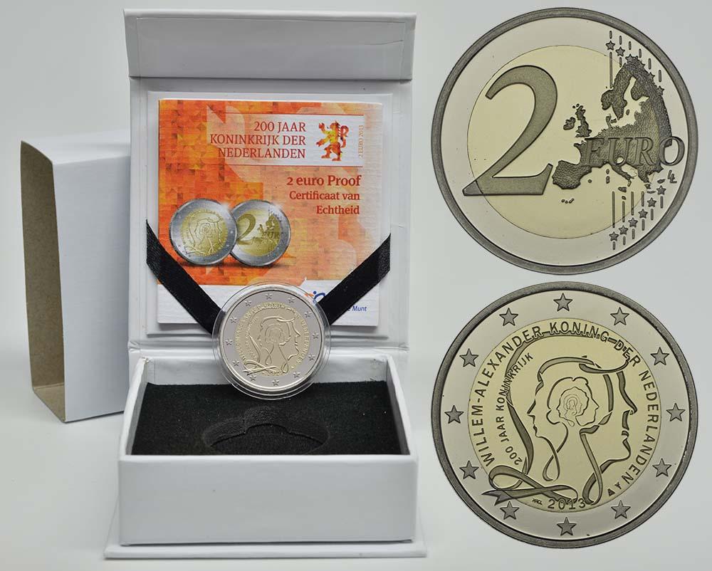 Niederlande : 2 Euro Königreich  2013 PP