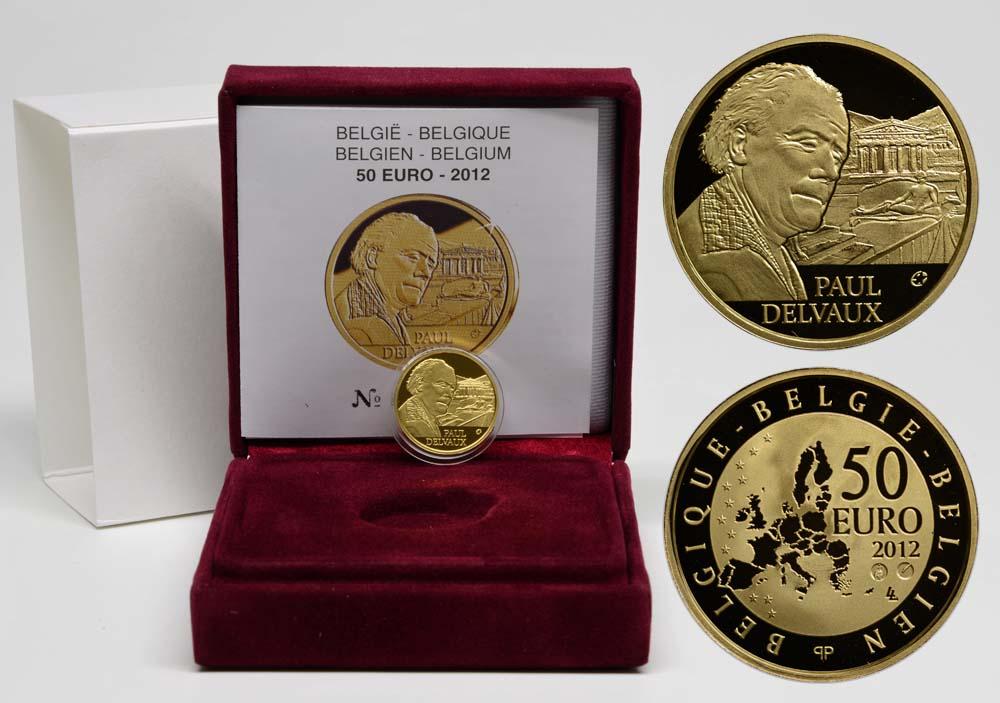Lieferumfang:Belgien : 50 Euro Paul Delvaux  2012 PP