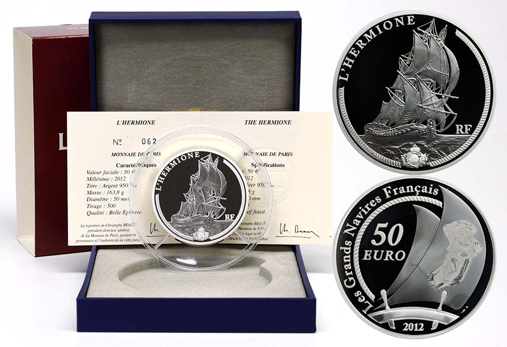 Lieferumfang:Frankreich : 50 Euro Hermione  2012 PP