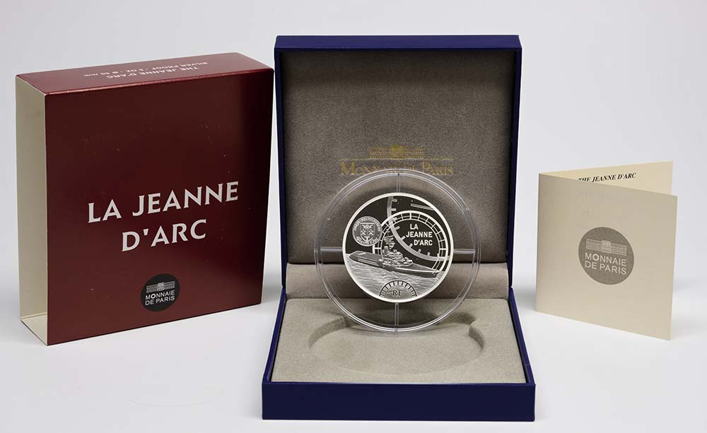 Frankreich : 50 Euro Jeanne d'Arc  2012 PP