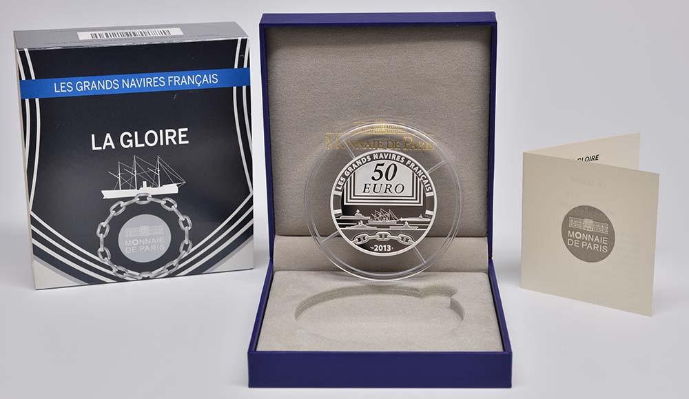 Lieferumfang:Frankreich : 50 Euro La Gloire  2013 PP