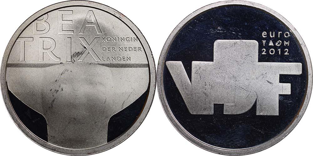 Lieferumfang:Niederlande : 5 Euro Bildhauerkunst  2012 vz.