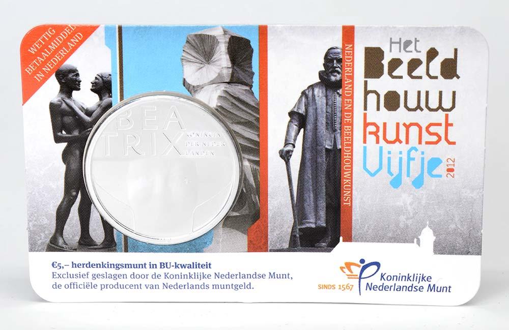Lieferumfang:Niederlande : 5 Euro Bildhauerkunst  2012 Stgl.