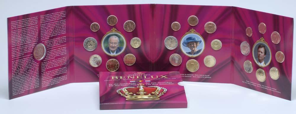 Lieferumfang:Belgien : 11,64 Euro original KMS Benelux, enthält alle Euro-Kursmünzen der Länder Belgien, Niederlande, Luxemburg inkl. 2 Euro Erasmus und Jean  2011 Stgl. KMS Benelux 2011