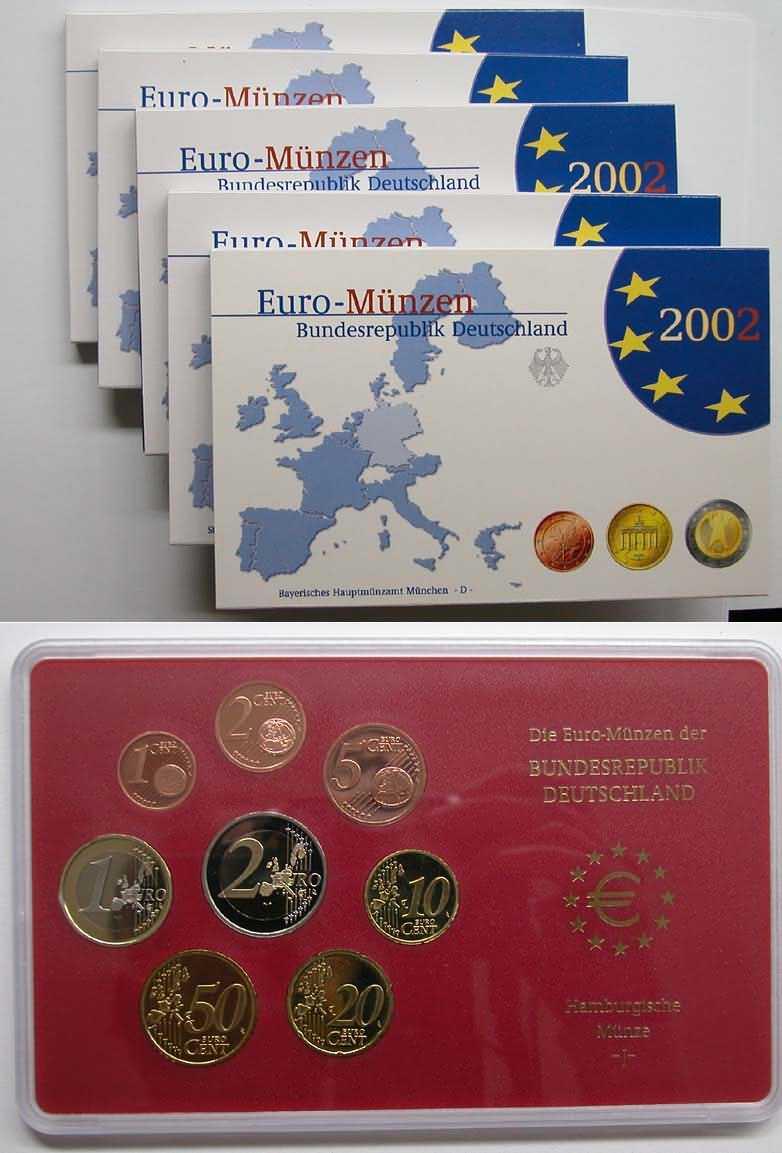 Lieferumfang:Deutschland : 19,4 Euro KMS Deutschland  2002 PP