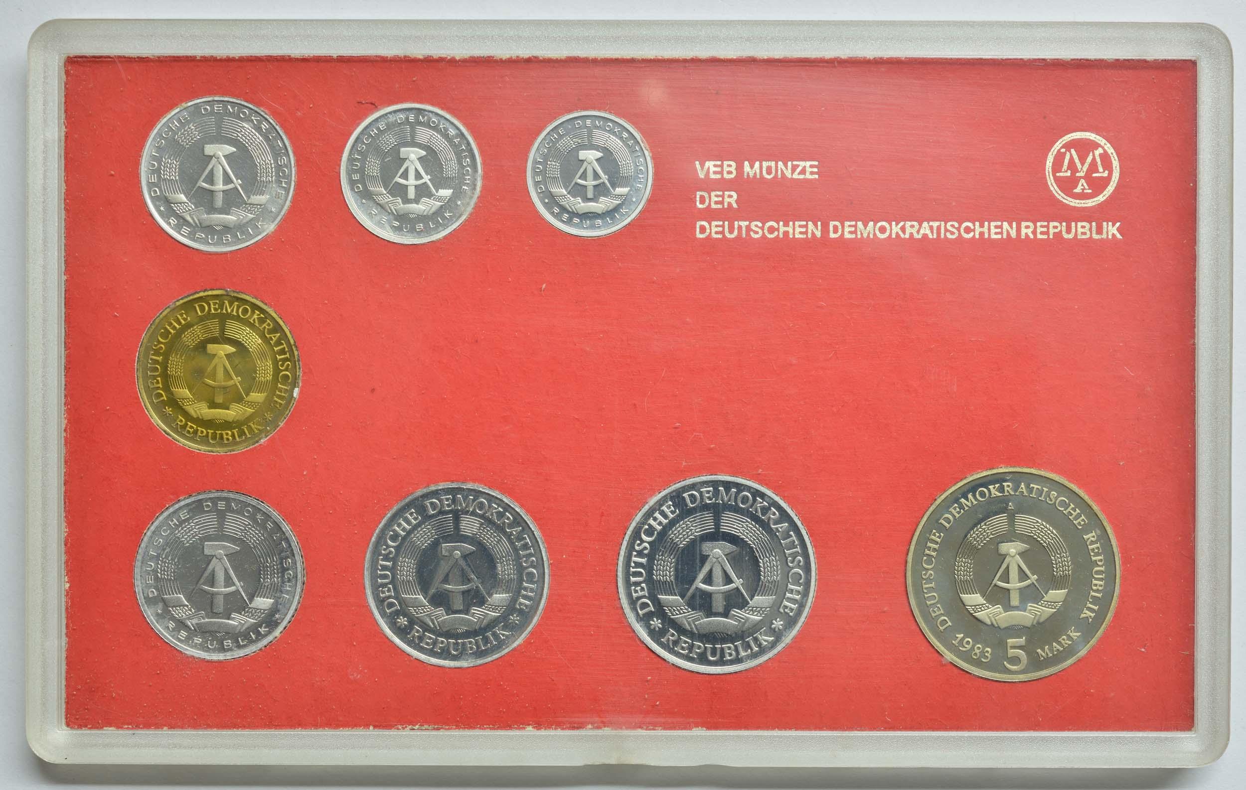 Rückseite:DDR :   Meißen -selten- 1983 PP