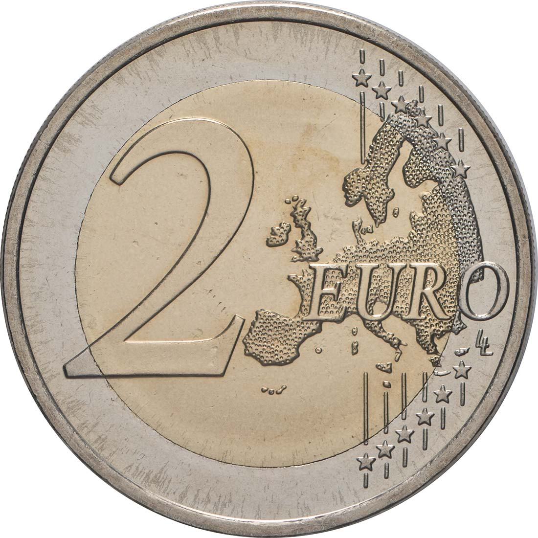 Vorderseite:Finnland : 2 Euro Römische Verträge  2007 bfr
