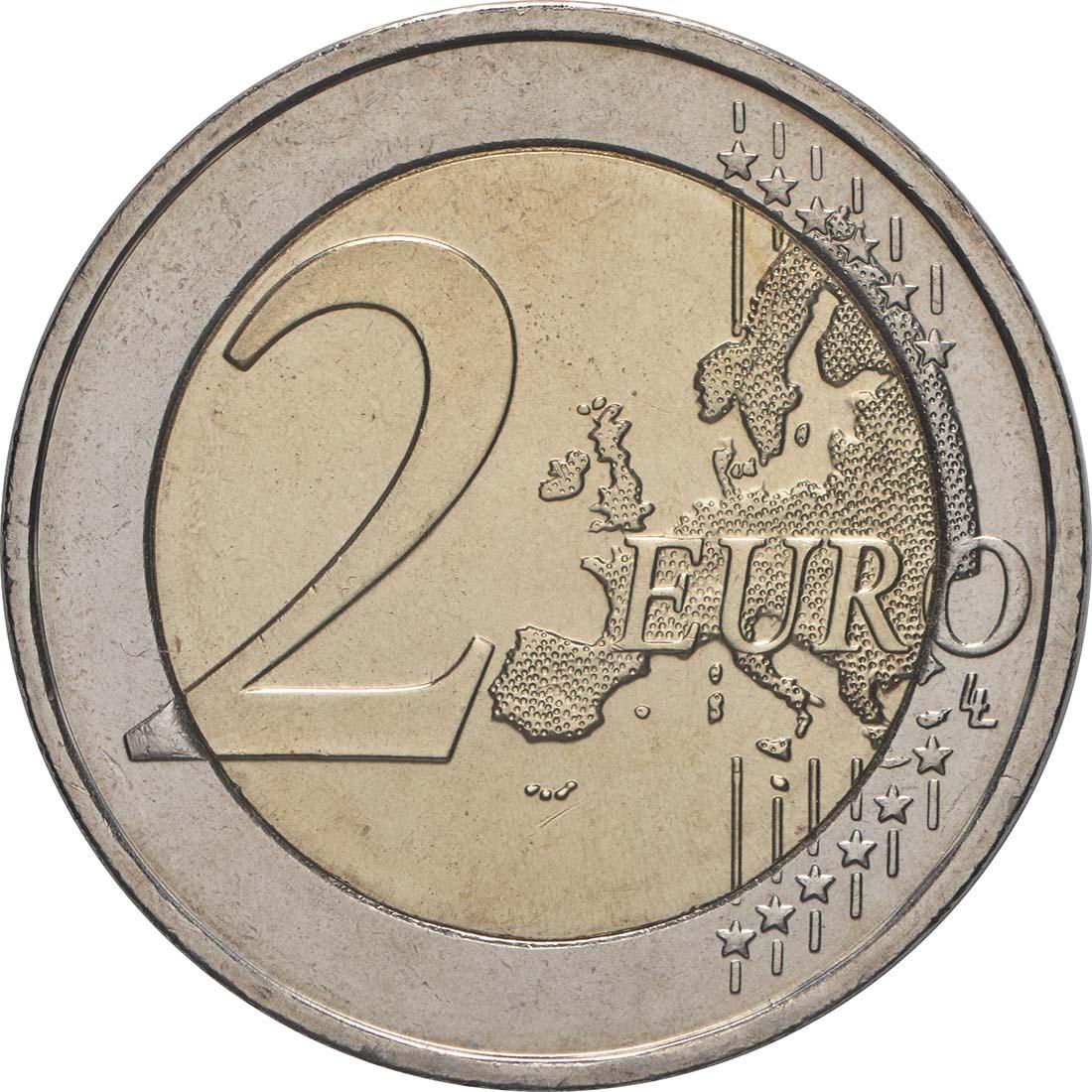 Vorderseite:Griechenland : 2 Euro Römische Verträge  2007 bfr