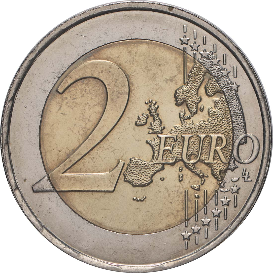 Vorderseite:Luxemburg : 2 Euro Römische Verträge  2007 bfr