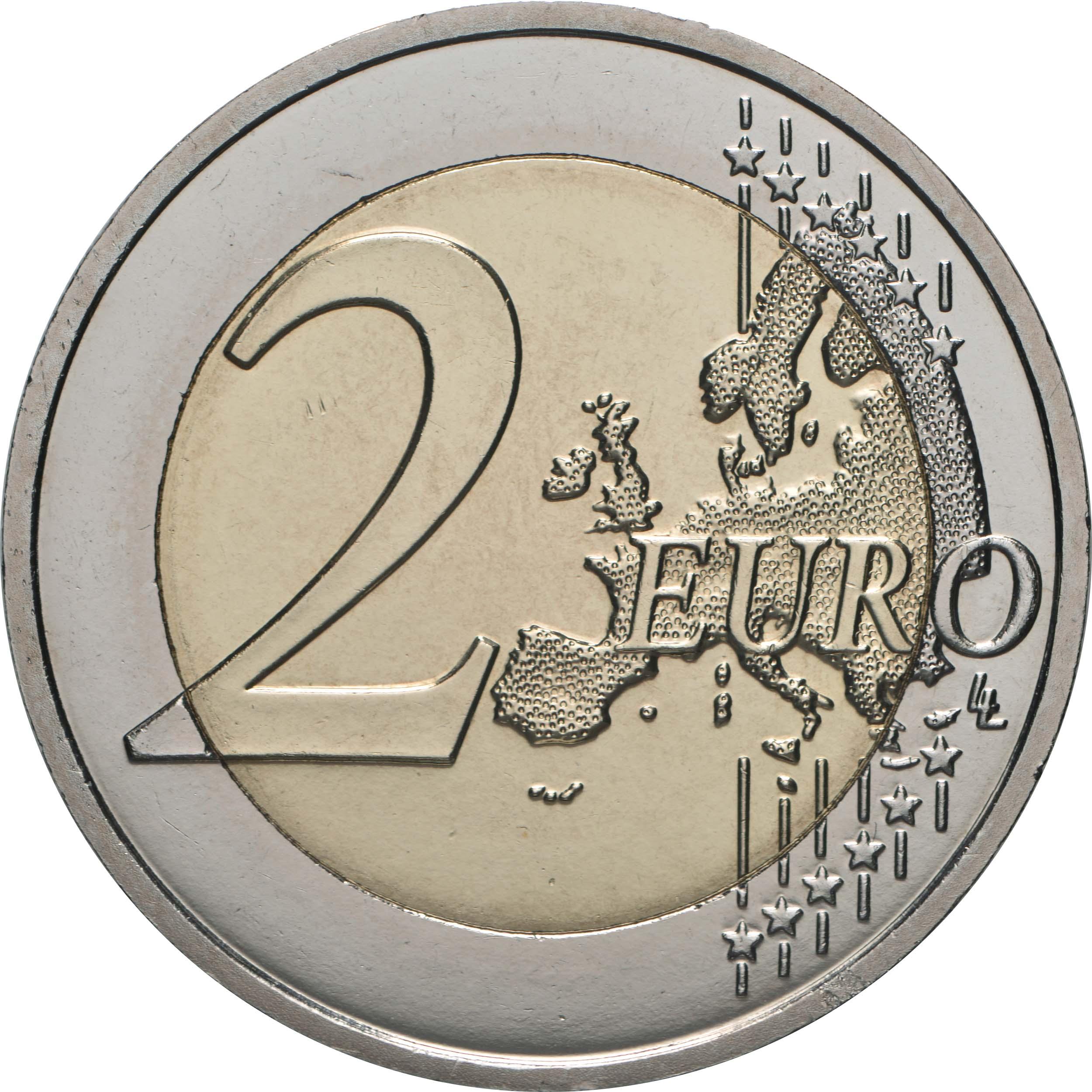 Vorderseite :Monaco : 2 Euro Gracia Patrizia / Grace Kelly  2007 bfr 2 Euro Monaco 2007