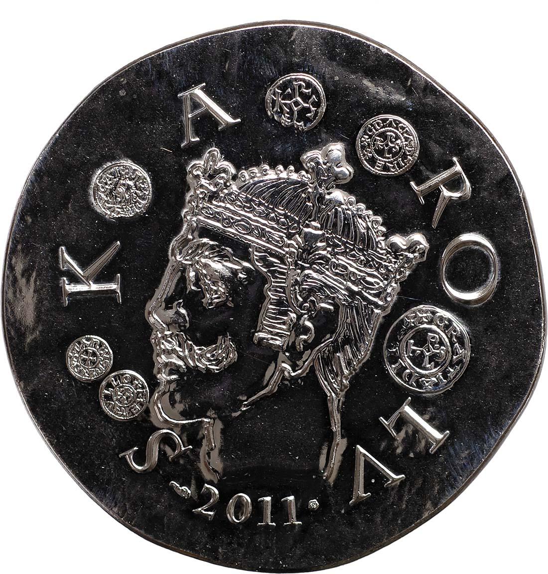 Rückseite:Frankreich : 10 Euro Karl der Kahle  2011 Stgl.