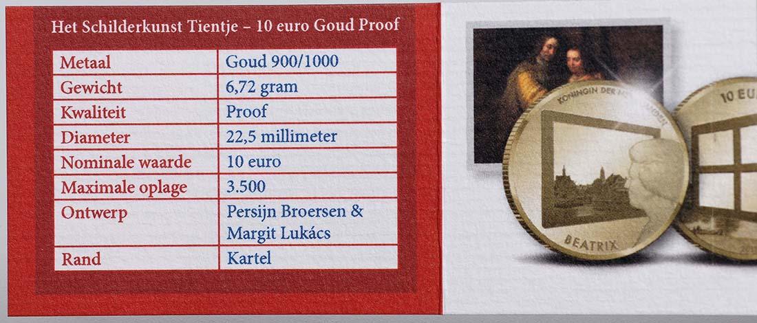 Zertifikat:Niederlande : 10 Euro Niederlande und die Malkunst  2011 PP
