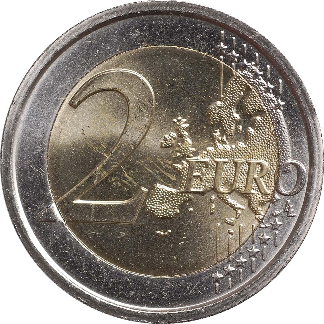 Vorderseite:San Marino : 2 Euro Giorgio Vasari  2011 Stgl.