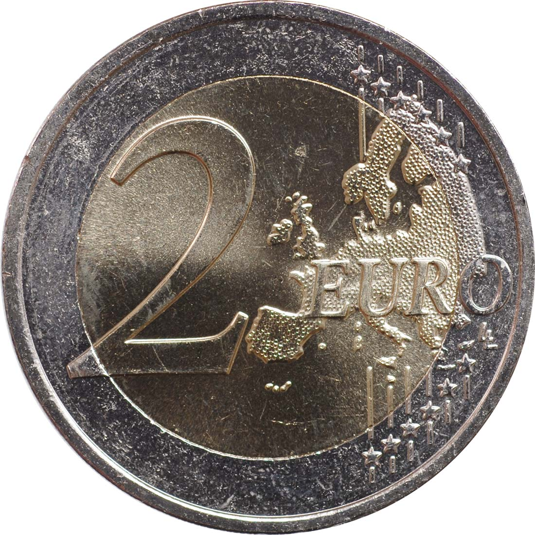 Vorderseite:Griechenland : 2 Euro Special Olympics  2011 bfr