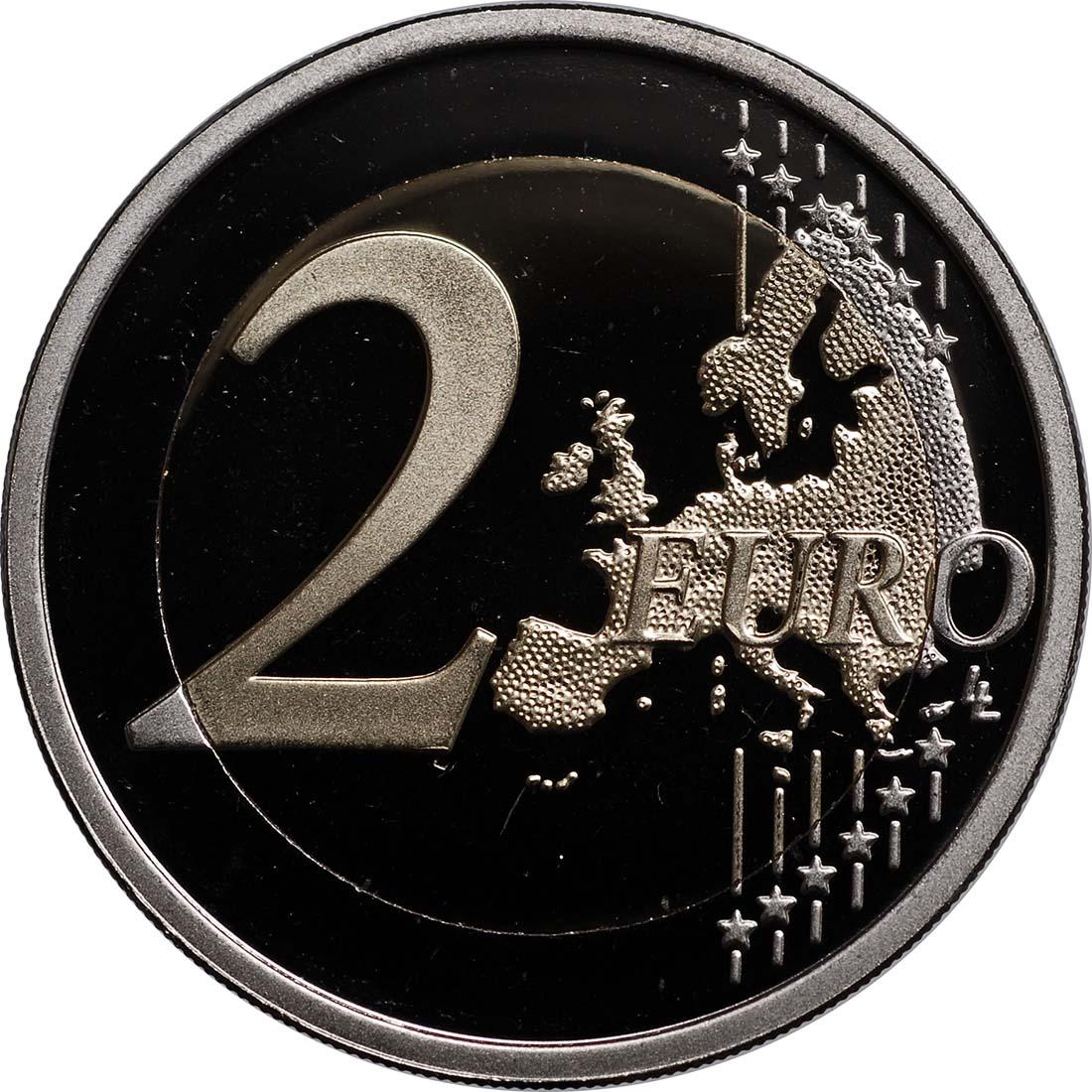 Vorderseite:Finnland : 2 Euro 200 Jahre finnische Bank  2011 PP