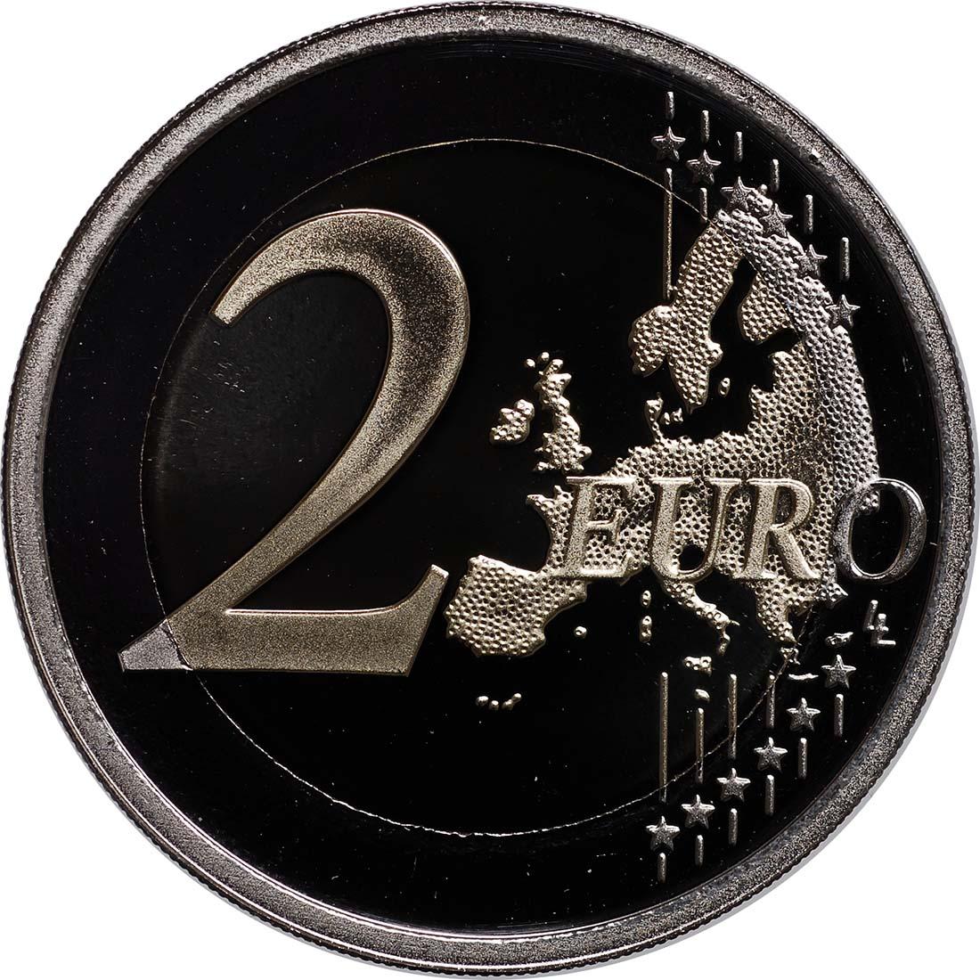Vorderseite :Malta : 2 Euro Wahl der ersten Abgeordneten 1849  2011 PP
