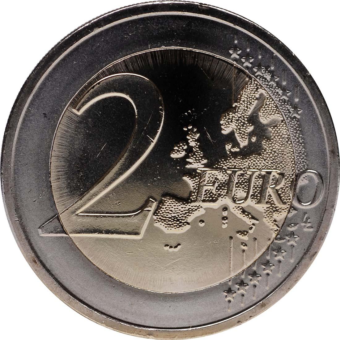Vorderseite :Slowenien : 2 Euro 10 Jahre Euro Bargeld  2012 bfr