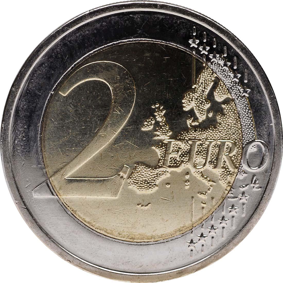 Vorderseite :Deutschland : 2 Euro 10 Jahre Euro Bargeld  2012 Stgl.