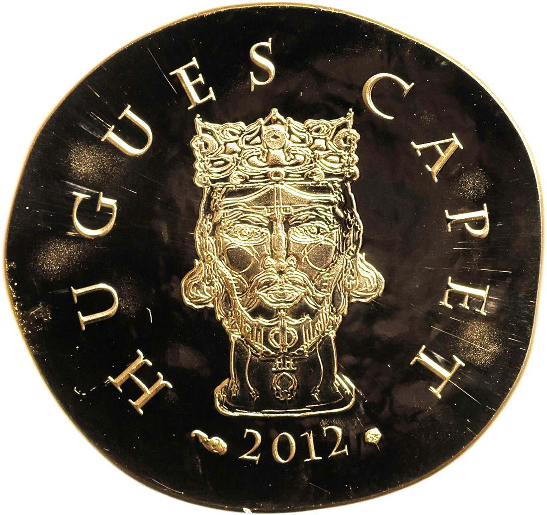 Rückseite:Frankreich : 50 Euro Hugues Capet  2012 PP