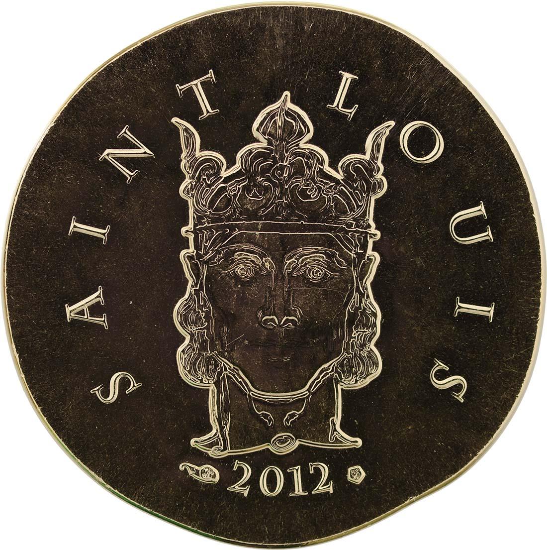Vorderseite:Frankreich : 50 Euro Saint Louis IX  2012 Stgl.