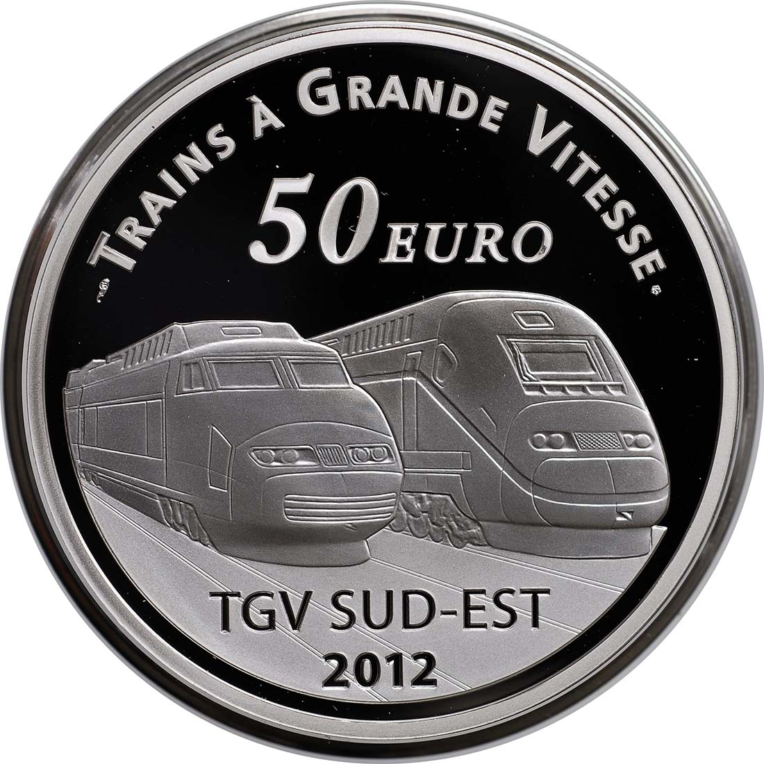 Vorderseite:Frankreich : 50 Euro Lyon St. Exupery  2012 PP