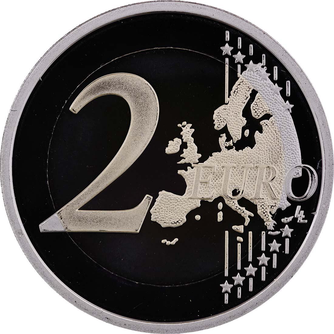 Vorderseite :Frankreich : 2 Euro Abbé Pierre  2012 PP
