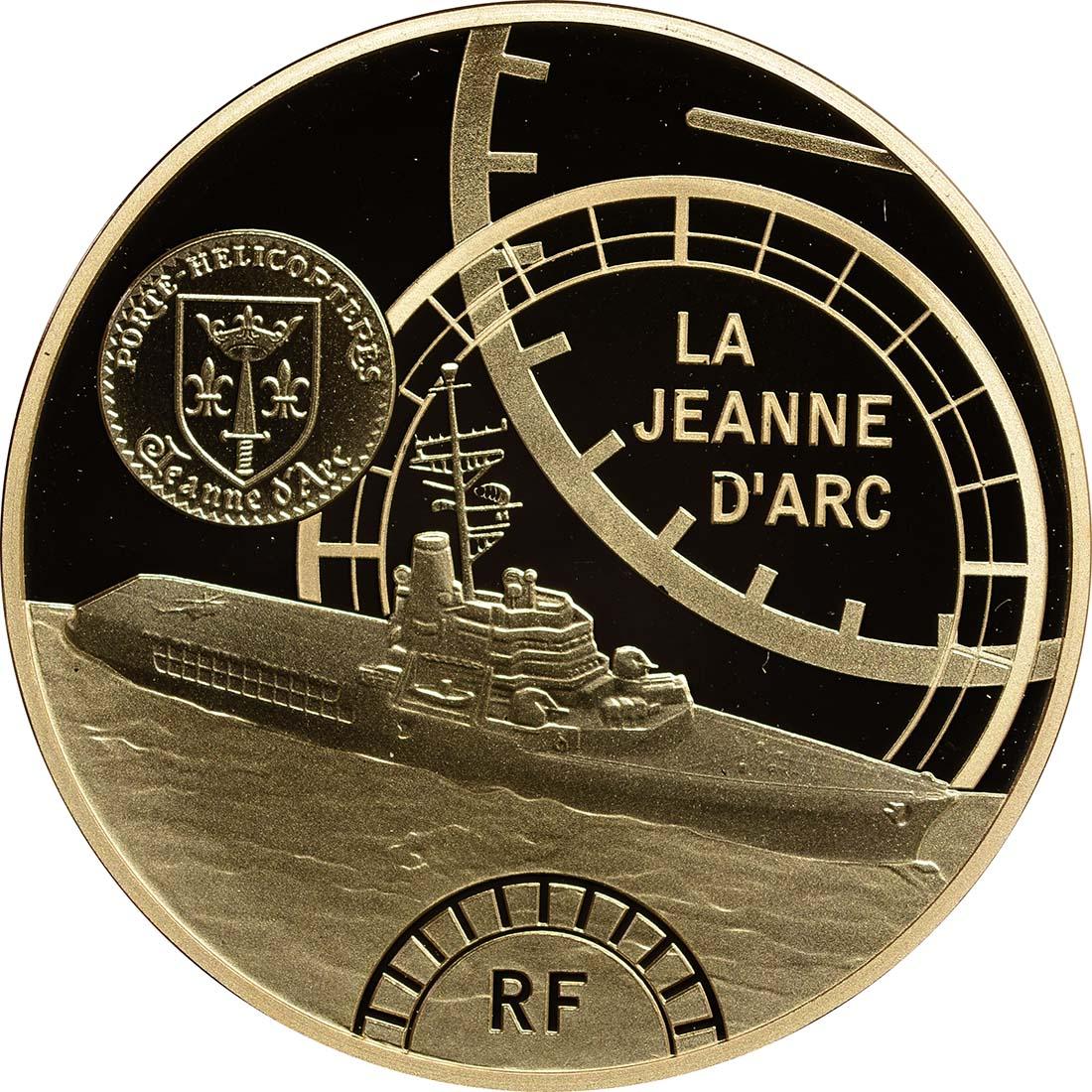 Vorderseite :Frankreich : 50 Euro Jeanne d