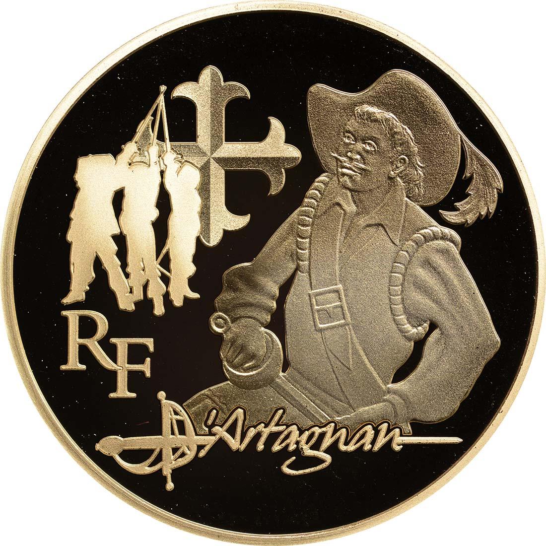 Vorderseite:Frankreich : 50 Euro D'Artagnan  2012 PP