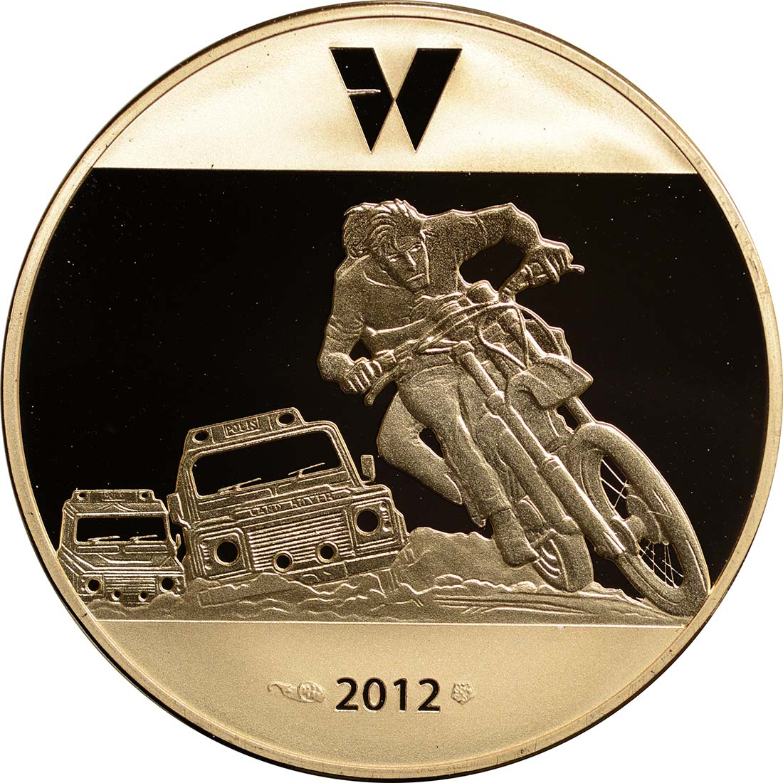 Rückseite:Frankreich : 50 Euro Largo Winch  2012 PP