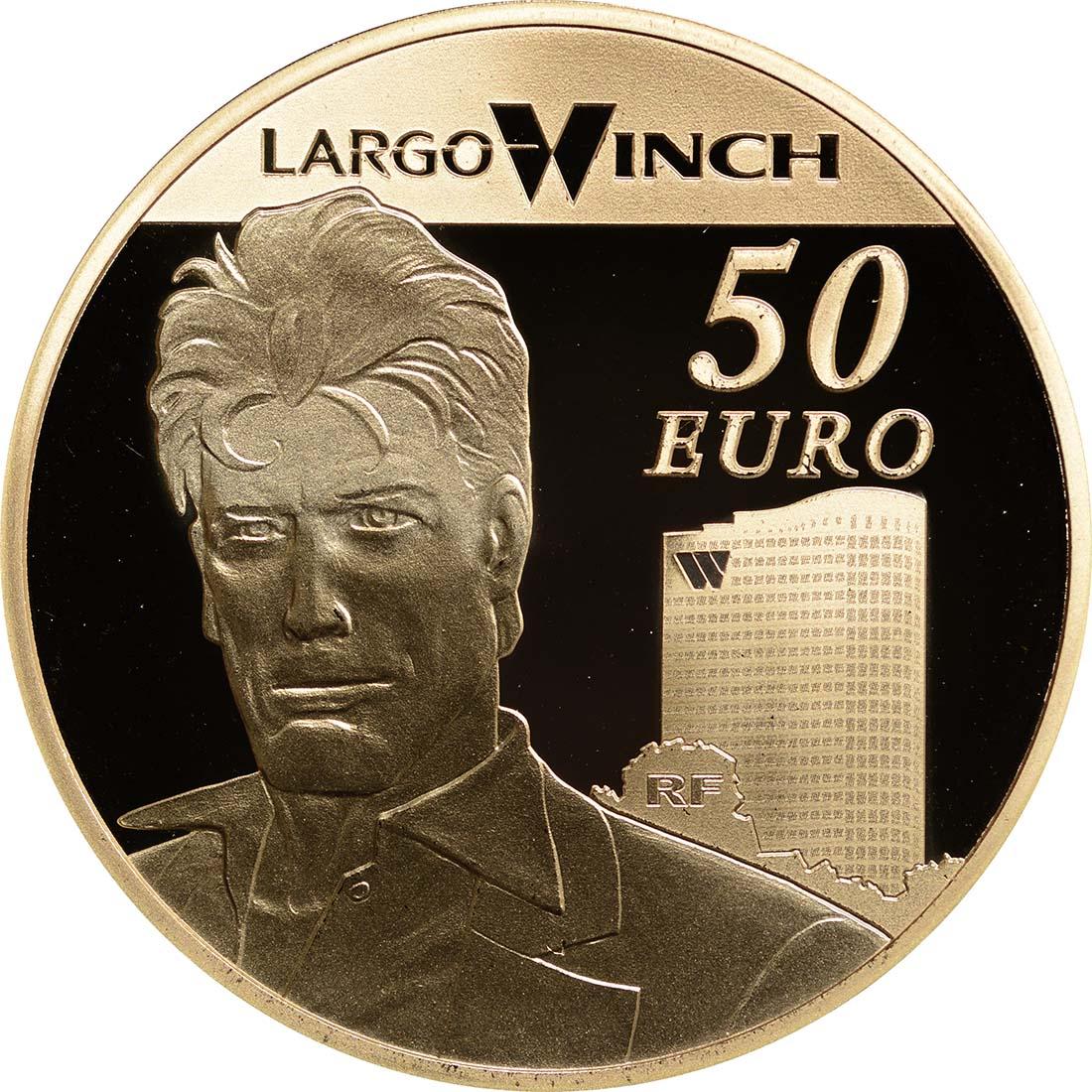 Vorderseite:Frankreich : 50 Euro Largo Winch  2012 PP