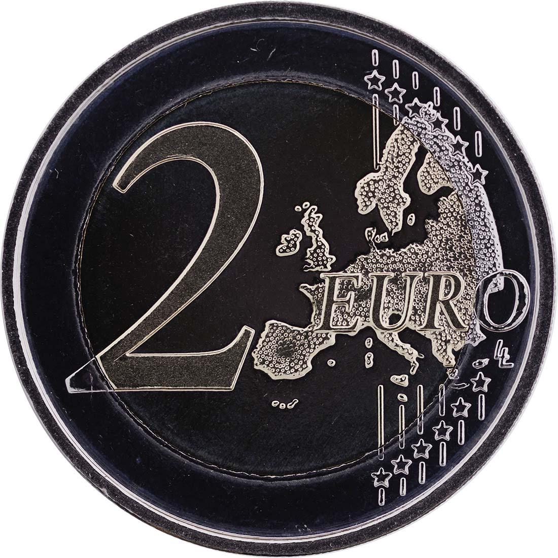 Vorderseite :Belgien : 2 Euro 75 J. Königin-Elisabeth Internationaler Musik Wettbewerb  2012 PP