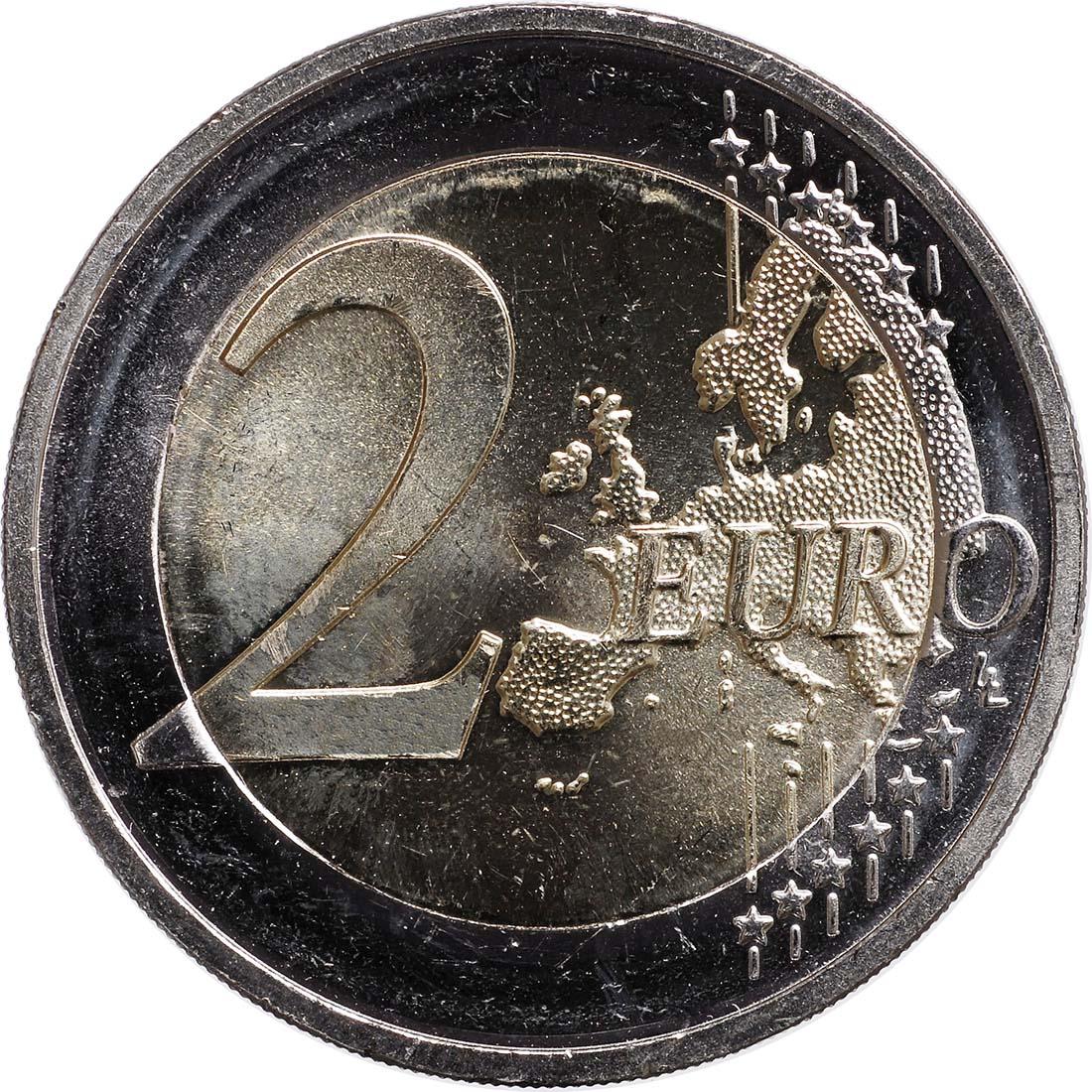 Bild der Vorderseite :Deutschland - 2 Euro Schloss Neuschwanstein  2012 bfr