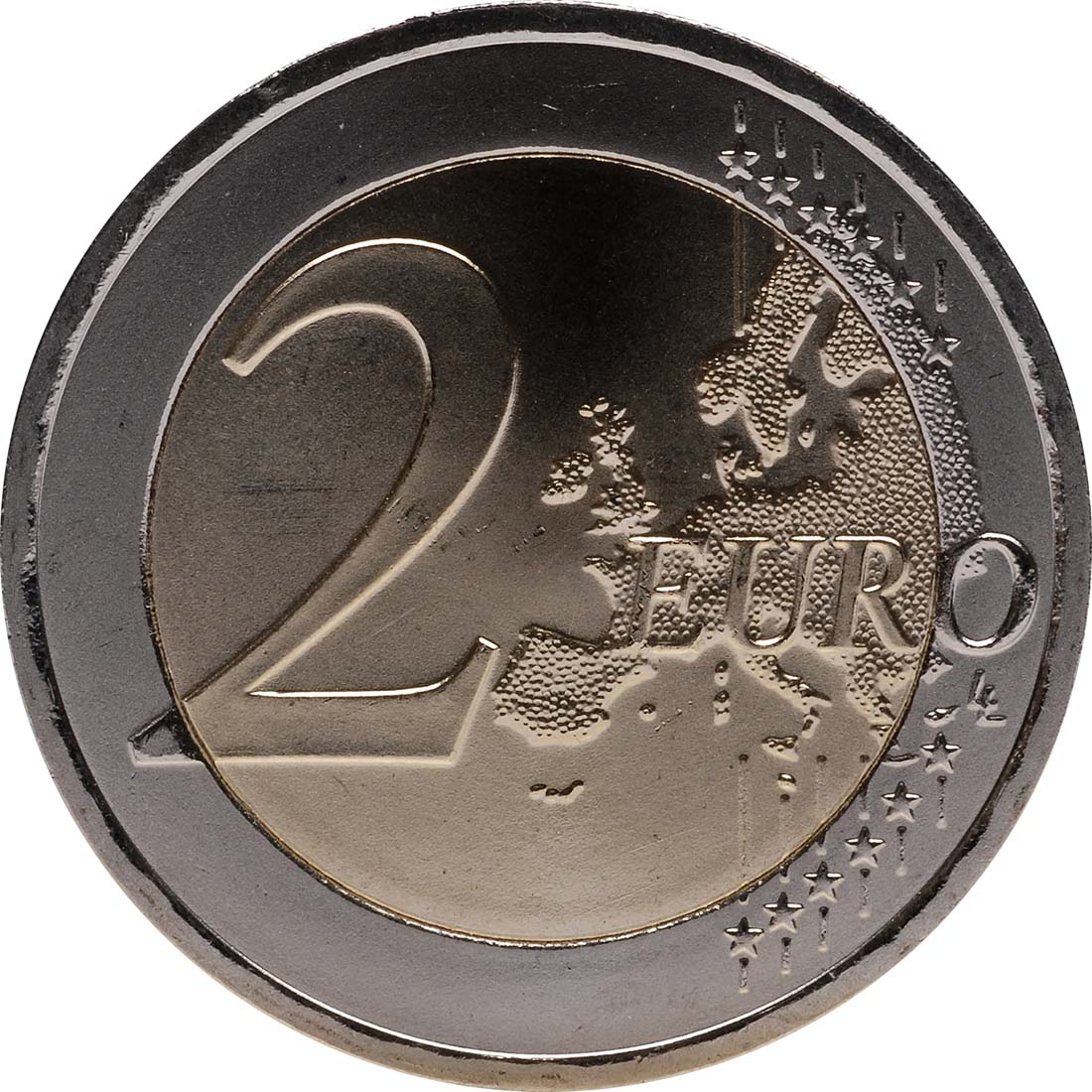 Vorderseite :Österreich : 2 Euro 10 Jahre Euro Bargeld  2012 bfr