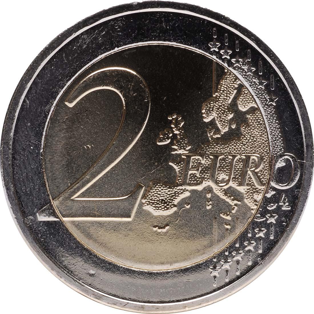 Vorderseite:Griechenland : 2 Euro 10 Jahre Euro Bargeld  2012 Stgl.